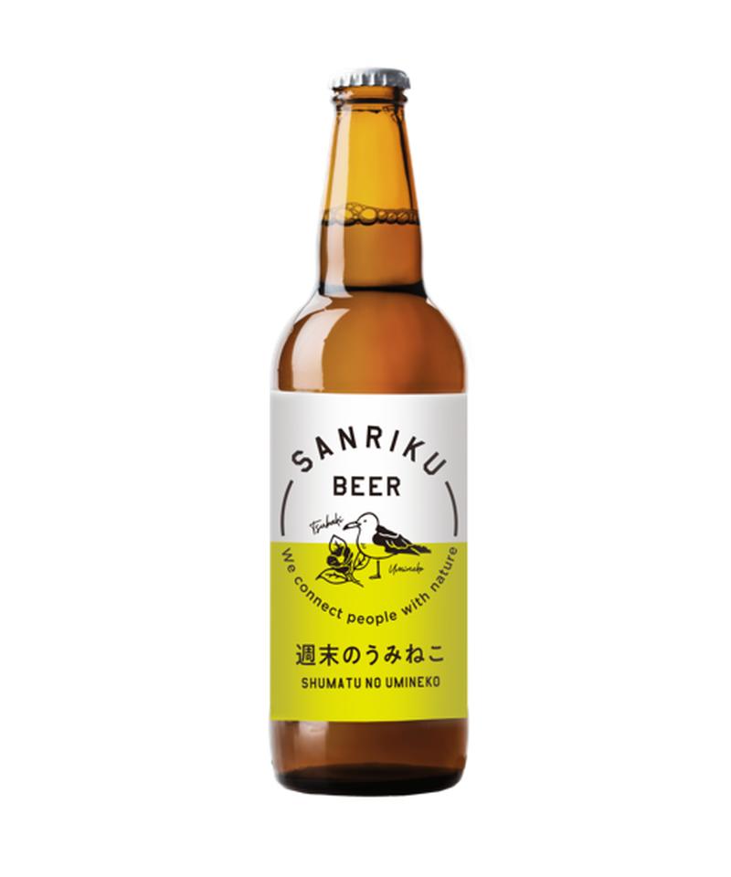 三陸初の地ビール・ブリュワリーの逸品。飲みやすくフルーティーなベルギースタイル。
