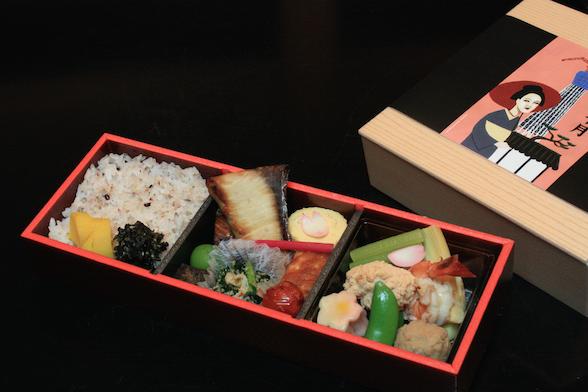 東京十月定番和食弁当。